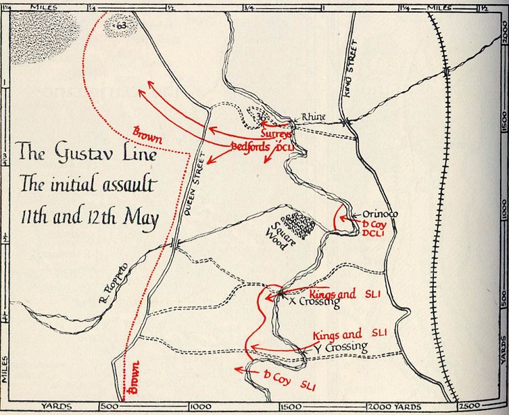 The Gustav Line Initial Assault 11&12 May 1944